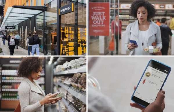 Amazon Go - первый в мире магазин без касс и очередей