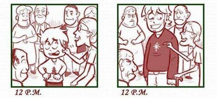 Як з часом змінюються погляди на Новий Рік (7 фото)
