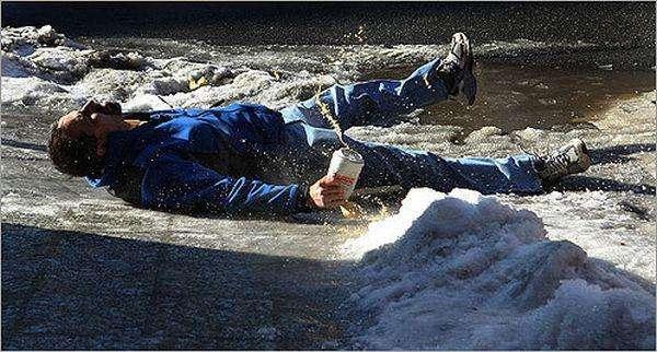 Феєричне падіння (4 фото)