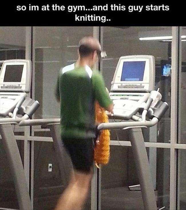 Диваки в спортзалі (19 фото)