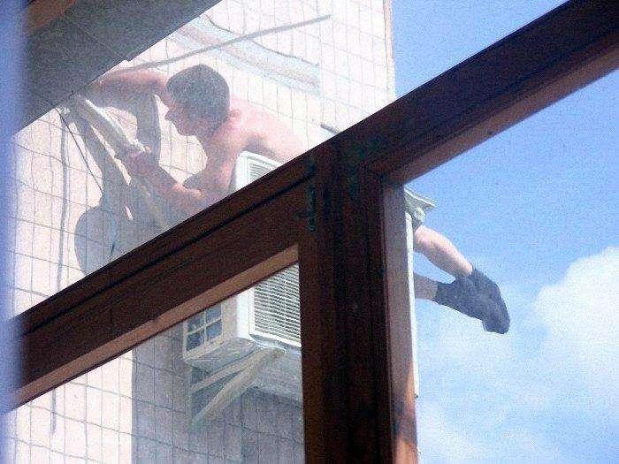 А з нашого вікна (3 фото)