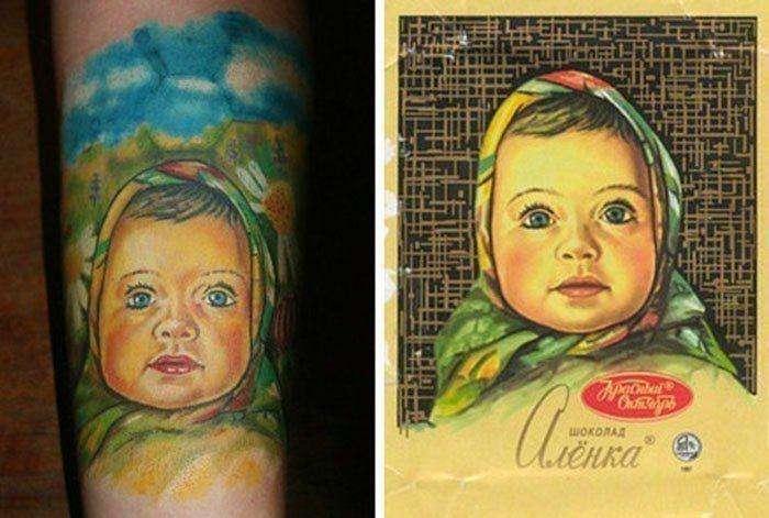 Татуювання. Чисто по-російськи (25 фото)