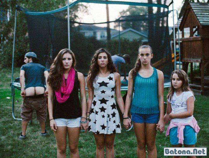 Фотобомбы з дівчатами (60 фото)