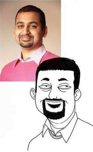 Забавні карикатури з фото (19 фото)