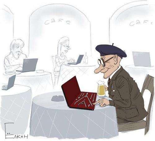 Злободенні карикатури Сергія Йолкіна (24 фото)
