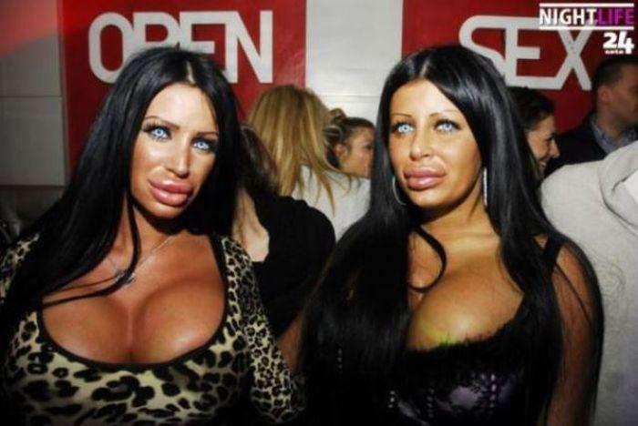Королеви пластикової хірургії з Хорватії (24 фото)