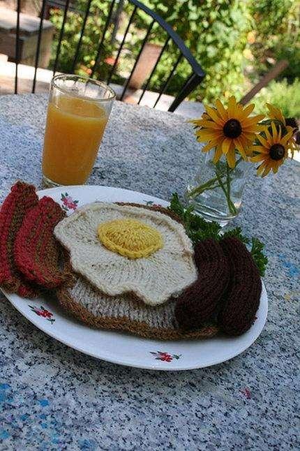 Плетені їжа (16 фото)