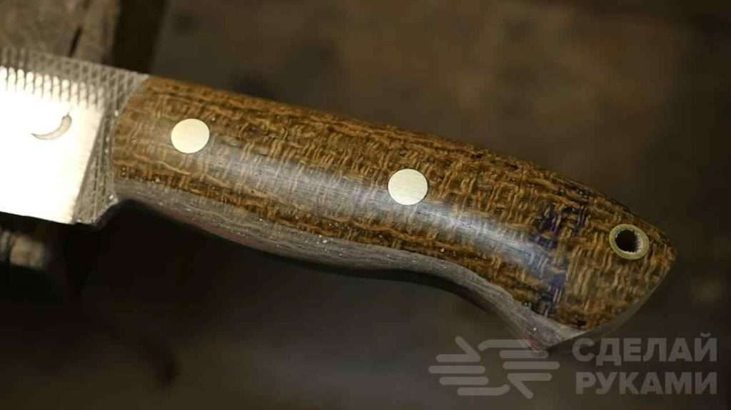 Классный нож из напильника по дереву своими руками Самоделки