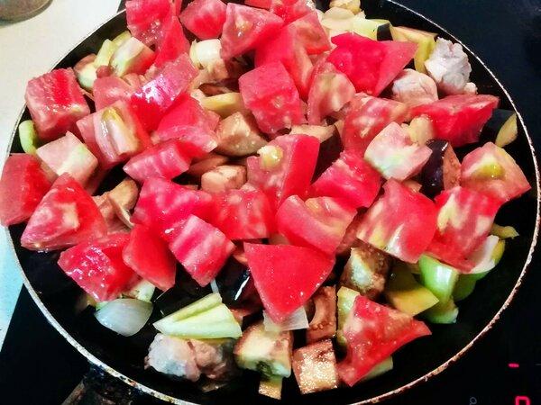 Мясо с овощами по-грузински. Пряный и сытный рецепт грузинская кухня,кулинария,мясные блюда,овощные блюда