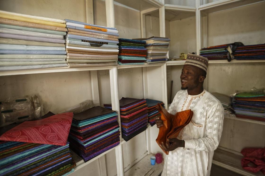 Многовековые красильные ямы в Нигерии производство