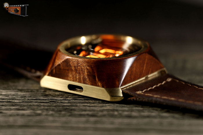 Наручные часы с деревянной вставкой своими руками мастерская