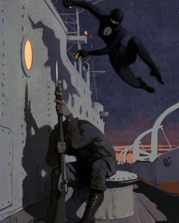 Пинап, фантастика и фэнтези от художника Вальдемара фон Козака Всячина