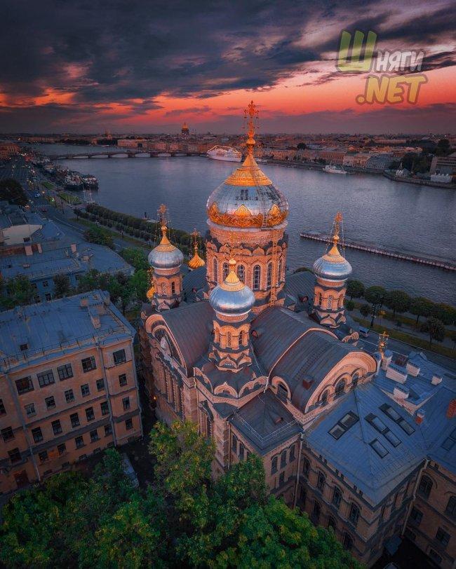 Петербургские закаты санкт-петербург
