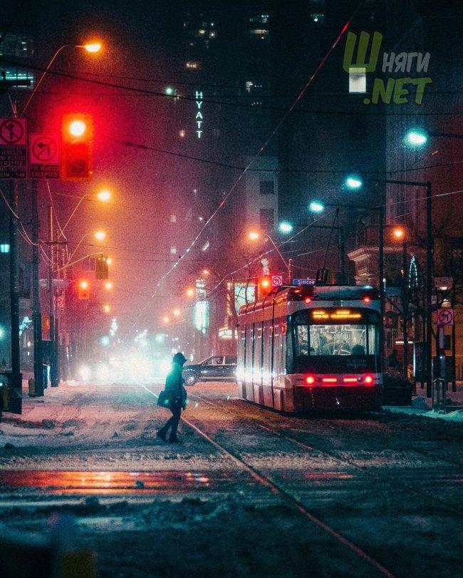 Зима в Торонто торонто, канада