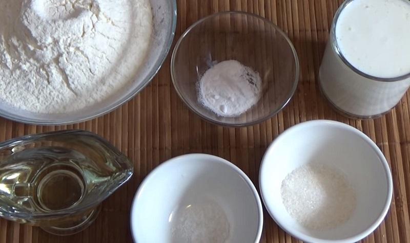 Рецепт пышных оладий без яиц Кулинария