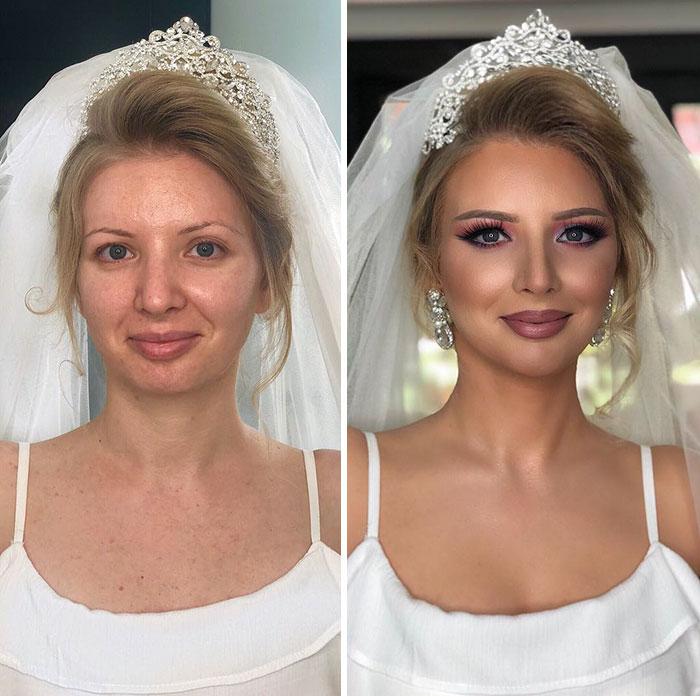 Волшебный Мейк-ап. До и после :-))
