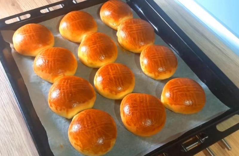 Рецепт творожных булочек с начинкой кулинария