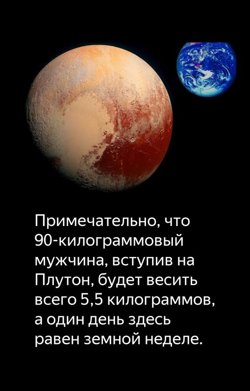 Плутон знает свое место Интересное
