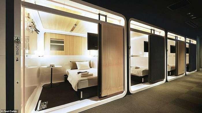Отель-караоке и отель-поезд: 14 самых необычных вариантов размещения в Японии Интересное