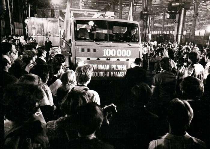 «КАМАЗу» потребовалось лишь три года для выпуска 100 тысячного грузовика авто