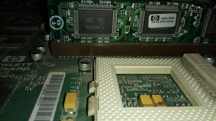 Компьютерной Некрофилии пост: Pentium I от HP хай-тек