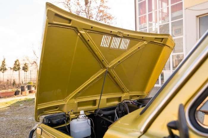Lada Niva с кузовом кабриолет построенная в Греции авто