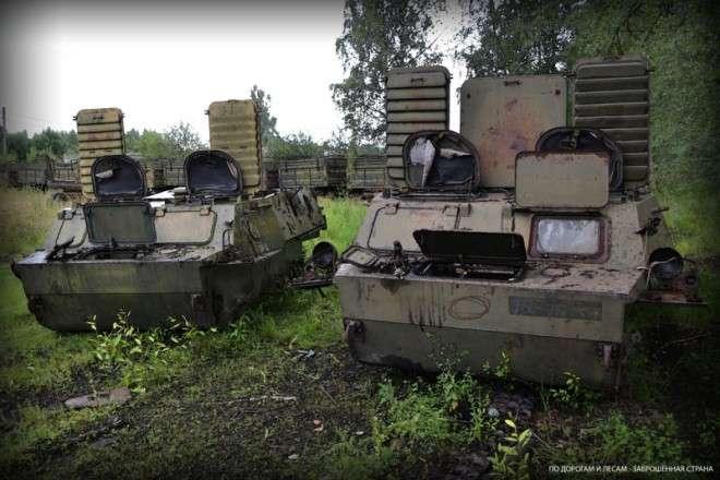Куда деваются старые танки хай-тек