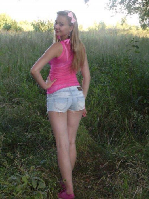 Очаровательные девушки из российских социальных сетей позитив