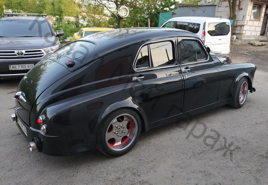 Шикарный ГАЗ М-20 по кличке «Гризли». авто