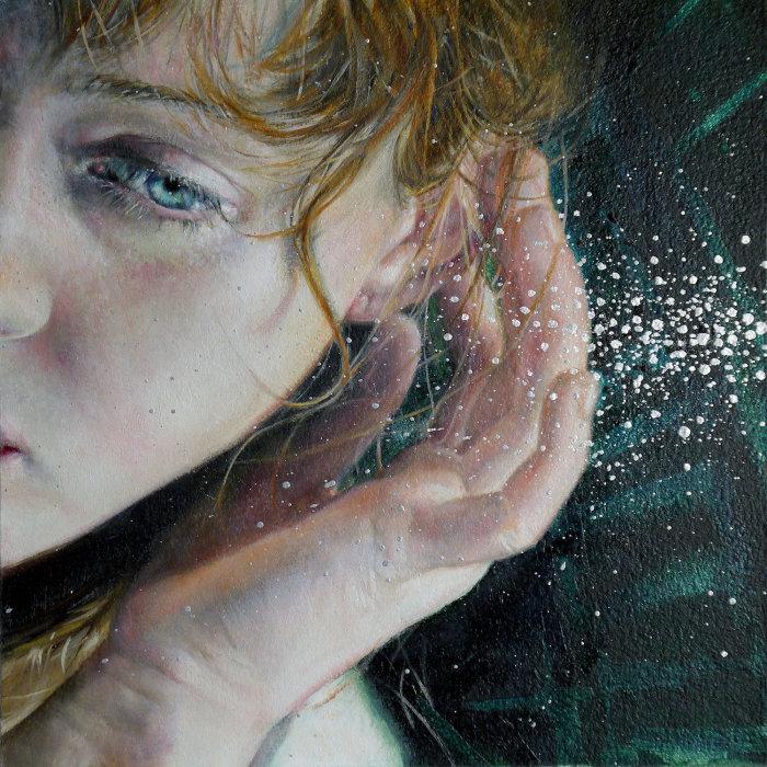 Чувственные реалистичные картины, которые переносят в запредельные миры Живопись