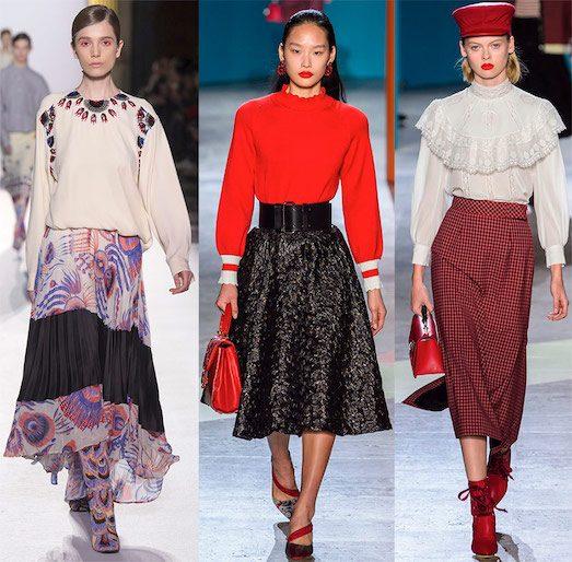 Какие юбки будут модными в 2019 году? лучшее