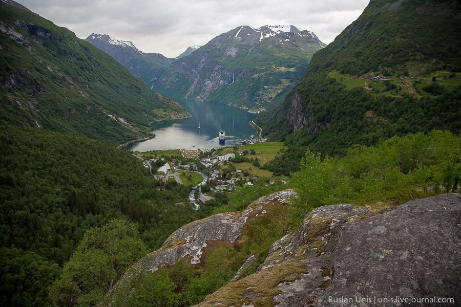 Далснибба, крыша Норвегии, или Виды с высоты птичьего полета авиатур
