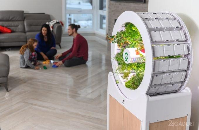 OGarden — фантастический круговой сад для любого дома OGarden