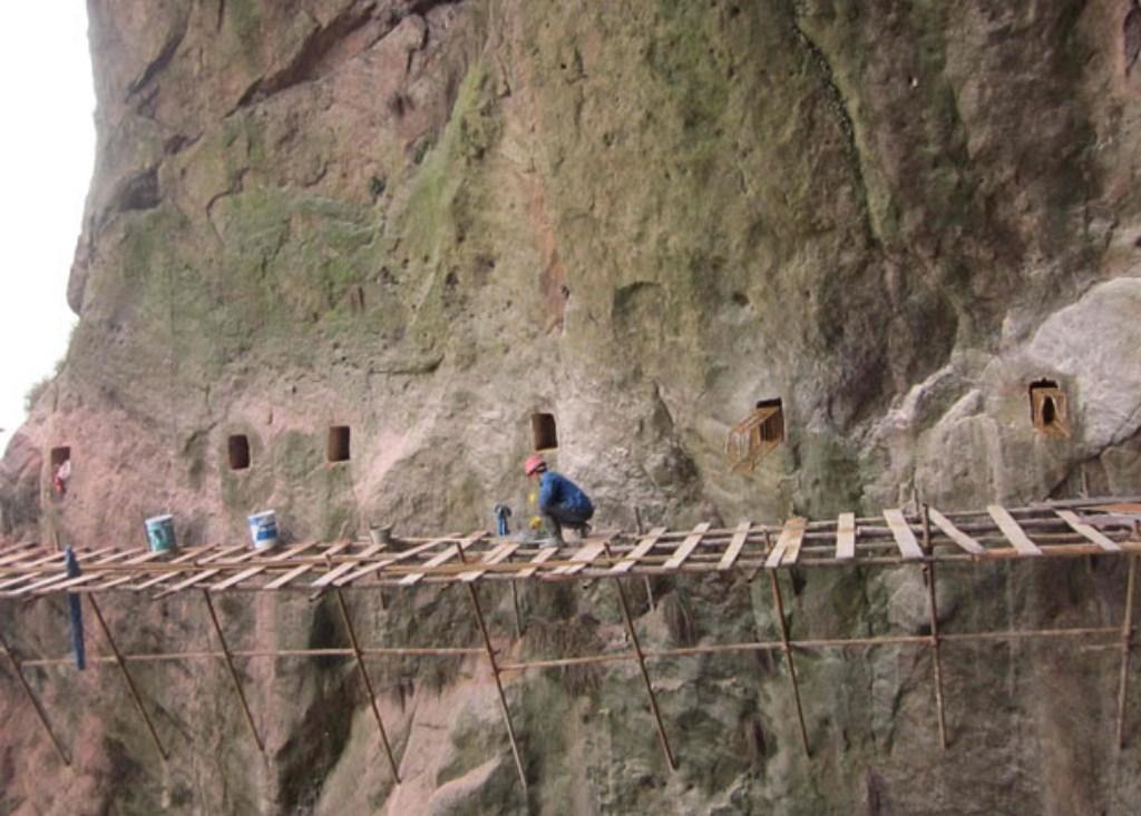 Как строятся экскурсионные дороги в горном Китае