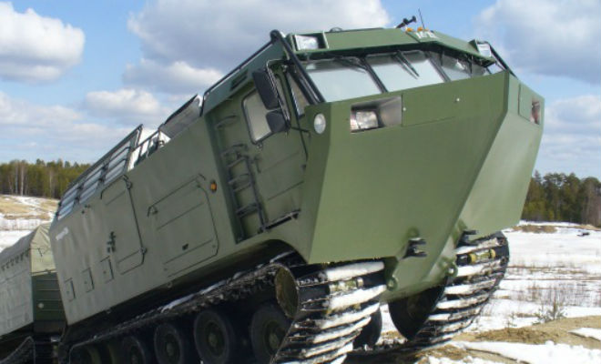Витязь ДТ 30П: вездеход-монстр для российского бездорожья автомобиль