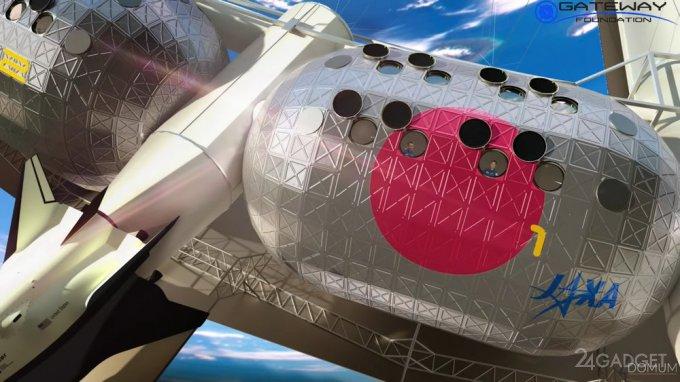 На орбите возведут вращающуюся станцию с искусственной гравитацией гаджеты