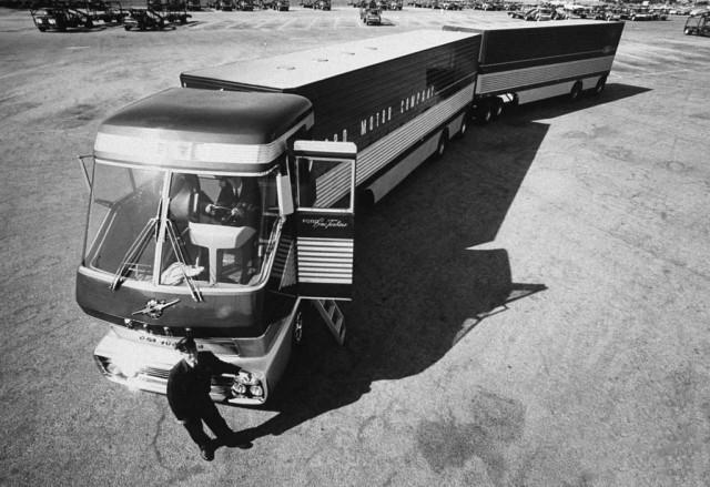 Газотурбинные грузовики 60-х марки и модели