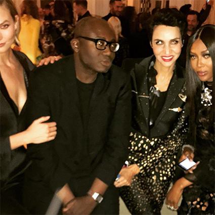 Белла и Джиджи Хадид, Карли Клосс и другие на вечеринке редактора британского Vogue Новости моды