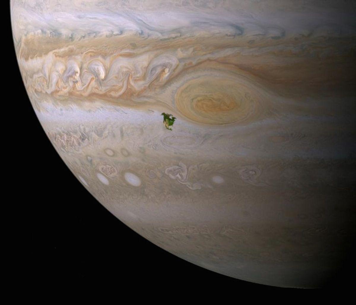 5 космических фото, на которых ты увидишь, насколько наша Земля маленькая Земля