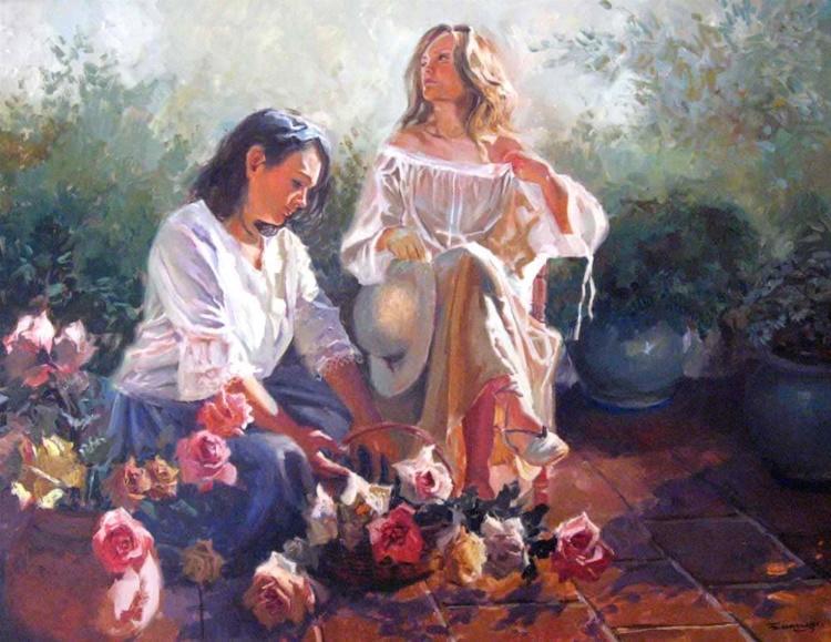 Прекрасные женщины Испании
