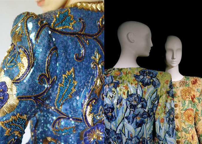 Любимый вышивальщик великого Лагерфельда: Волшебные работы мастерской Франсуа Лесажа лучшее