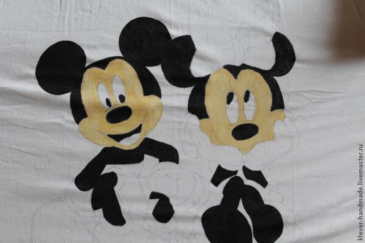 Как сделать рисунок на футболке красками по текстилю рисунки по текстилю