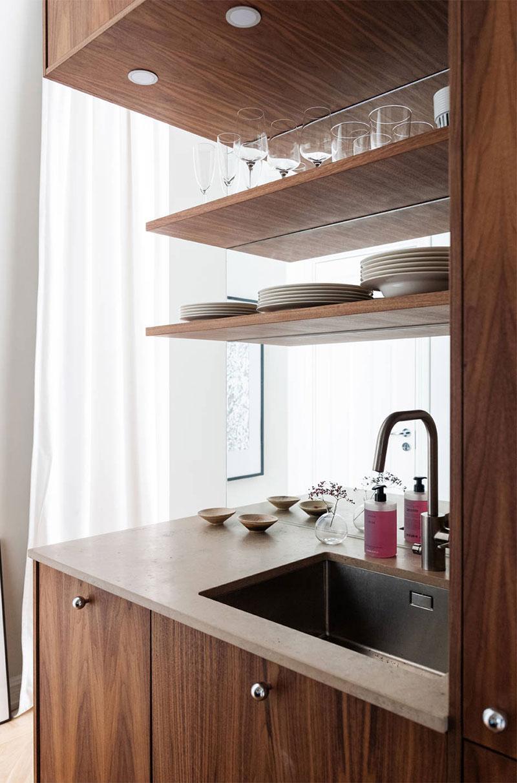 Маленькая квартира с нежными женственными нотками в Стокгольме женственный интерьер