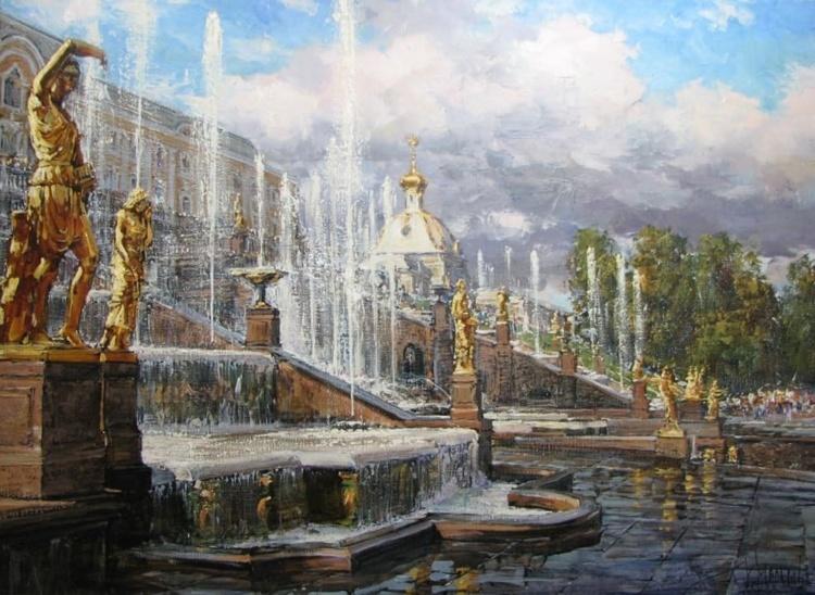 Художник Кирилл Мальков. Каналы и мосты Петербурга