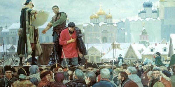 Пугачев и Павел 1