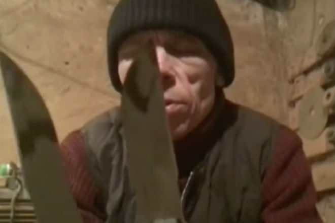 Ножи в тюрьме: клинки Анатолия Лютого Культура