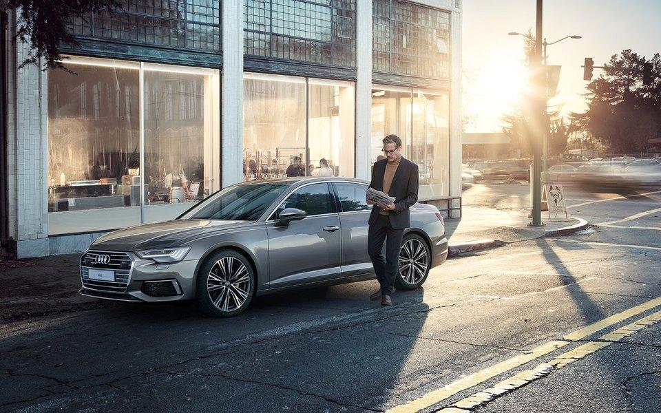 Бизнес-седан с душой суперкара: новый Audi A6 автомобили