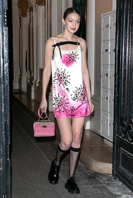 Наоми Кэмпбелл, сестры Хадид и другие самые востребованные модели современности на вечеринке Анны Винтур Мода / Новости моды