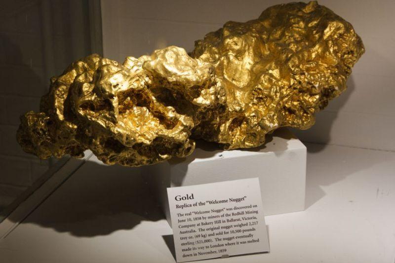 История о самом большом самородке золота в мире Дальние дали