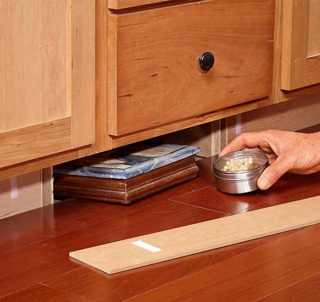Где в частном доме можно сделать тайник домашний очаг